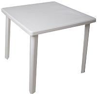 Стол пластиковый Стандарт Пластик Групп Квадратный 80х80 (белый) -