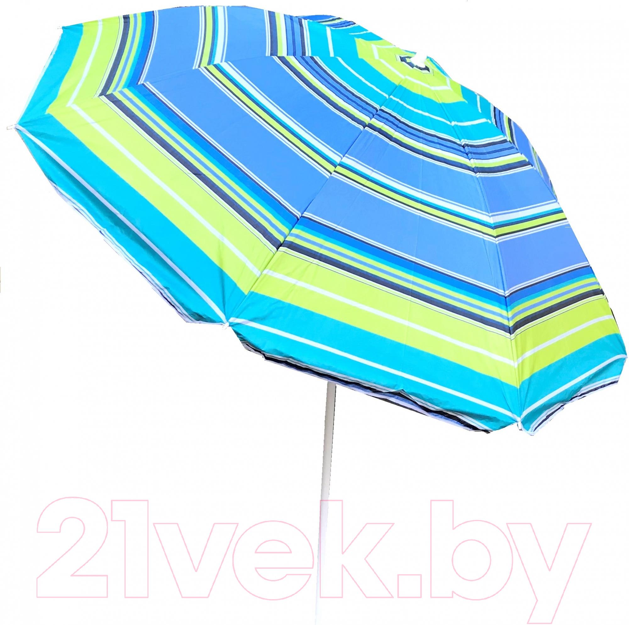 Купить Зонт пляжный Sabriasport, 901006 (синий/зеленый), Китай
