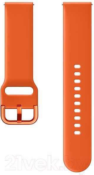 Купить Ремешок для умных часов Samsung, Galaxy Watch Active / ET-SFR50MOEGRU (оранжевый), Россия