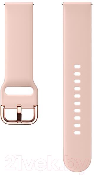 Купить Ремешок для умных часов Samsung, Galaxy Watch Active / ET-SFR50MPEGRU (светло-розовый), Россия