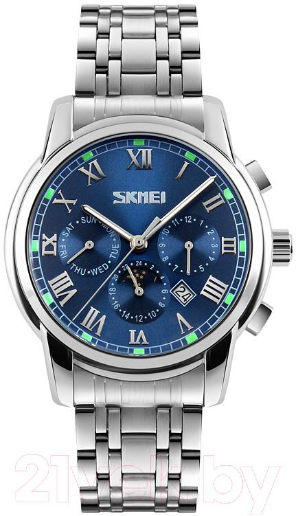 Купить Часы наручные мужские Skmei, 9121-2 (синий), Китай