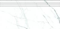 Ступень Kerranova Black and White Lappato White K-60/NR (294x600) -
