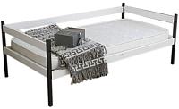 Кровать-тахта Можга Р425 (белый/антрацит) -