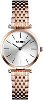 Часы наручные женские Skmei 1458-1 (розовое золото ) -