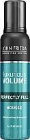 Мусс для укладки волос John Frieda Luxurious Volume для создания объема с термозащитой (200мл) -