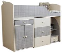 Двухъярусная кровать Можга Р430 (шане) -