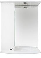 Шкаф с зеркалом для ванной Misty Астра 50 L / Э-Аст04050-01СвЛ -