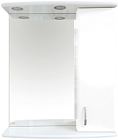 Шкаф с зеркалом для ванной Misty Астра 60 R / Э-Аст04060-01СвП -