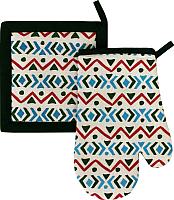 Кухонный набор MATEX Ornament 06-510 (изумрудный) -