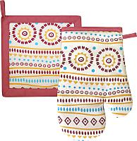 Кухонный набор MATEX Ornament 06-527 (терракотовый) -