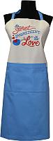 Кухонный фартук MATEX The Secret Ingredient 04-233 (небесный) -