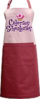 Кухонный фартук MATEX Culinar 11-477 (терракотовый/розовый) -