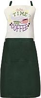 Кухонный фартук MATEX Time To Smell The Coffee 04-264 (изумрудный) -
