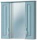 Шкаф с зеркалом для ванной Акваль Классик / В2.6.04.8.1.0 -
