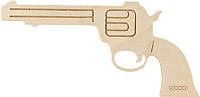 Пистолет игрушечный Woody Пистолет ковбойский / 02314 -