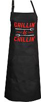 Кухонный фартук MATEX Grillin And Chillin 04-776 (черный) -