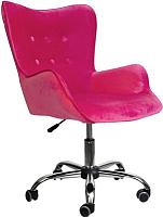 Кресло офисное Седия Bella (велюр фуксия) -
