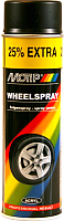 Краска автомобильная MoTip Для дисков / 04018 (500мл, черный глянец) -