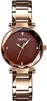 Часы наручные женские Skmei 9180-3 (розовое золото) -