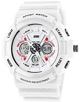 Часы наручные мужские Skmei 0966-2 (белый) -