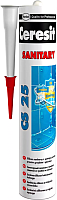 Герметик силиконовый Ceresit CS 25 (280мл, платина) -