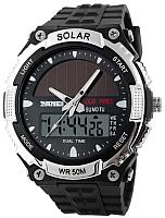 Часы наручные мужские Skmei 1049-1 (серебристый) -