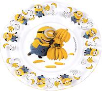 Тарелка закусочная (десертная) ОСЗ Миньоны / 16с19144ДЗ -