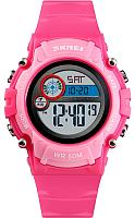 Часы наручные детские Skmei 1477-6 (красный/розовый) -