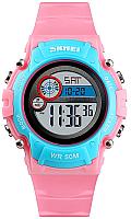 Часы наручные детские Skmei 1477-5 (розовый/синий) -
