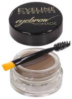 Помада для бровей Eveline Cosmetics Eyebrow Pomade тон Soft Brown (4г) -