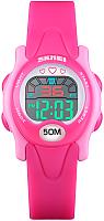 Часы наручные для девочек Skmei 1478-4 (красный/розовый) -