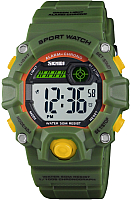 Часы наручные для девочек Skmei 1484-2 (хаки/зеленый) -