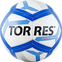 Футбольный мяч Torres BM1000 Mini / F31971 (белый/синий/черный) -