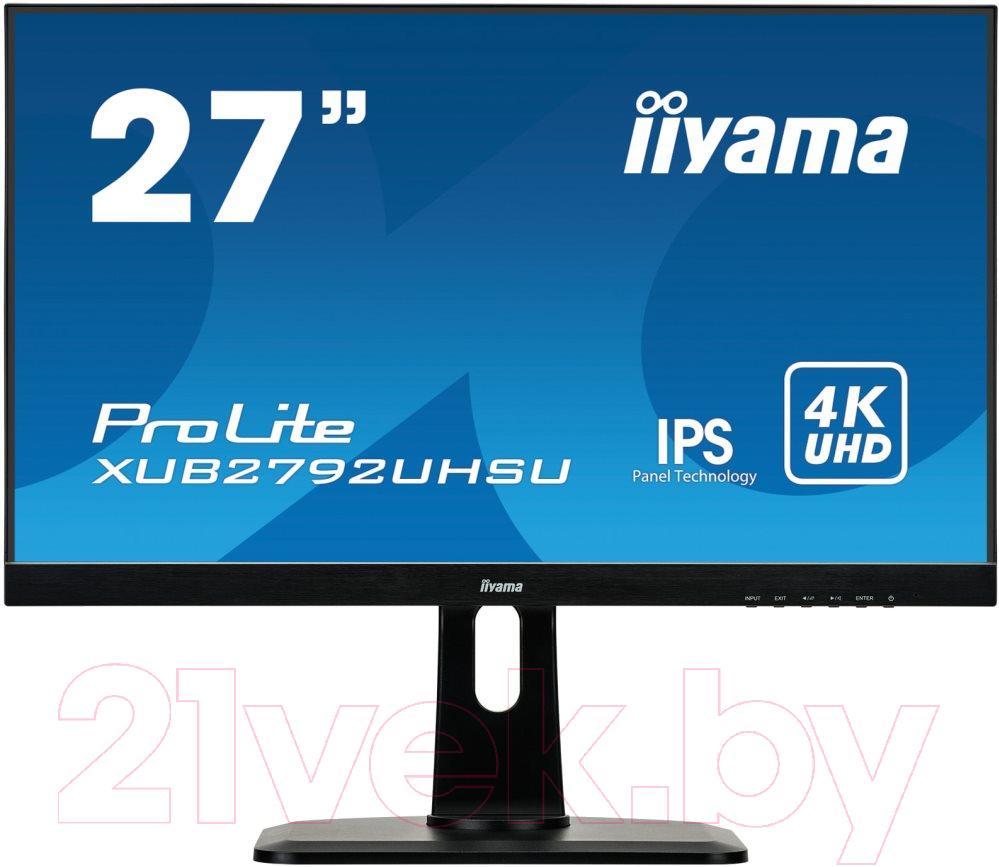Купить Монитор Iiyama, ProLite XUB2792UHSU-B1, Япония