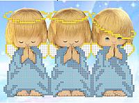 Набор для вышивания Наследие Три ангелочка / НД-003 -