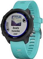 Умные часы Garmin Forerunner 245 / 010-02120-32 (черный/бирюзовый) -