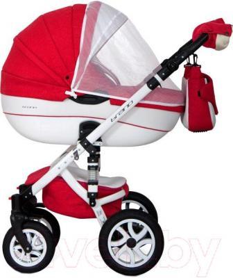 Детская универсальная коляска Riko Brano Ecco 2 в 1 (14) - москитная сетка на модели другой расцветки
