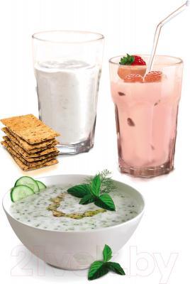 Йогуртница Tefal Lacteo YG260132 - приготовленный йогурт