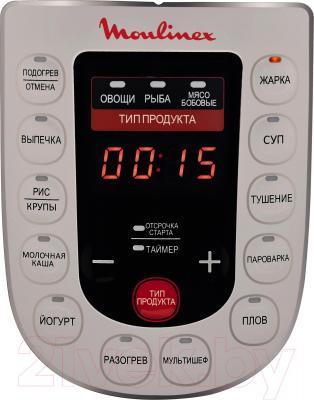 Мультиварка-скороварка Moulinex CE501132 - дисплей