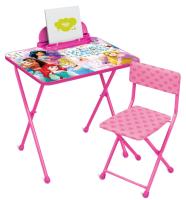 Комплект мебели с детским столом Ника Д2П Disney. Принцесса -