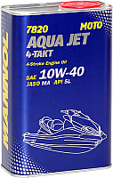 Моторное масло Mannol 4-Takt Aqua Jet 10W40 / MN7820-1ME (1л) -