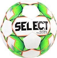 Мяч для футзала Select Futsal Talento 9 004 U-9 (белый/зеленый/оранжевый) -