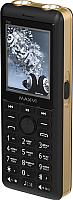 Мобильный телефон Maxvi P20 (черный/золото) -