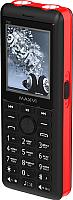 Мобильный телефон Maxvi P20 (черный/красный) -