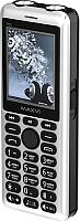 Мобильный телефон Maxvi P20 (черный/серебристый) -
