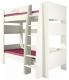 Двухъярусная кровать Мебель-Неман Тедди Сакура КРД180-1Д0 (бордовый/кремовый) -