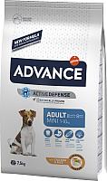 Корм для собак Advance Mini Adult с курицей и рисом (7.5кг) -