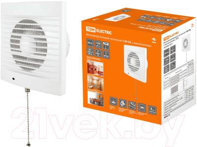 Вентилятор вытяжной TDM 120 СВ (SQ1807-0017)