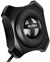 USB-хаб Sven HB-432 (черный) -