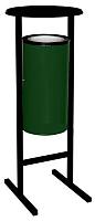Урна уличная Титан Мета Сл-250 (зеленый) -